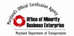 MDOT Minority Business Enterprise Certified Business Logo