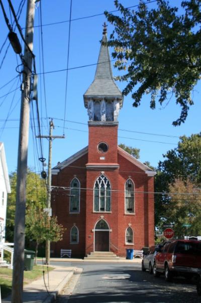 Phase One of the Asbury United Methodist Church restoration