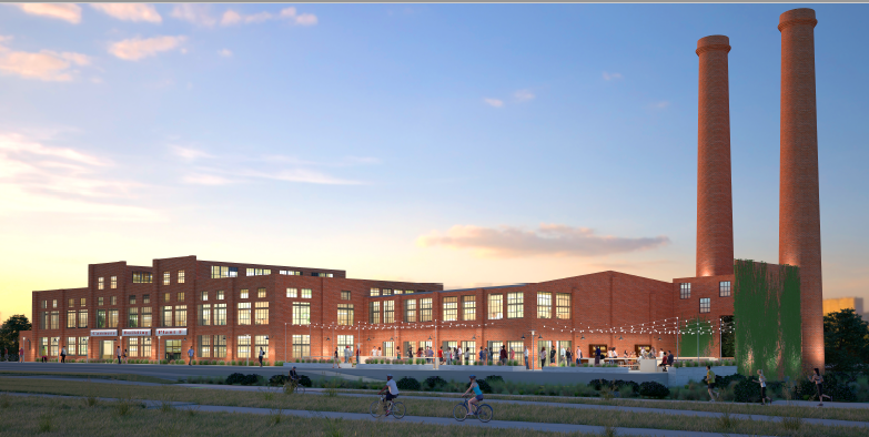 Conceptual rendering of Rehabilitated Packing Plant