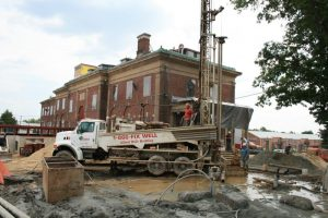 Casa de Maryland Geothermal Well Drilling