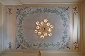 Stephan Decatur House Parlor Ceiling
