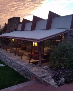 Encore-Sustainable-Design-Talisen-Frank-Lloyd Wright Building Desert Hues
