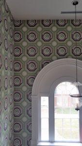 Stair wallpaper