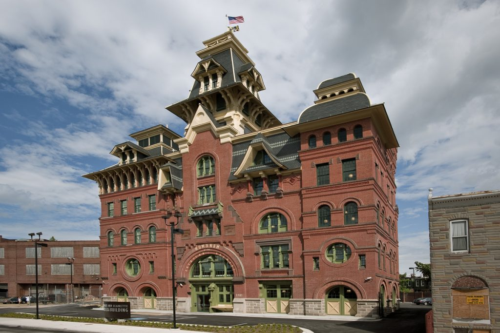 Renovated American Brewery Exterior