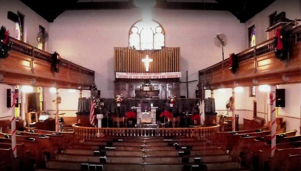Ebenezer African Methodist Episcopal Church Interior