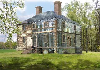 Menokin Proposed Design from Historic Structure Report
