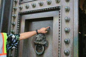 Encore-Sustainable-Design-Bancroft-Hall-Copper-Door-Before
