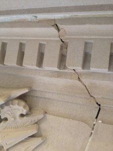 Encore-Sustainable-Design-Bancroft-Hall-Cracked-Stone-Lintel