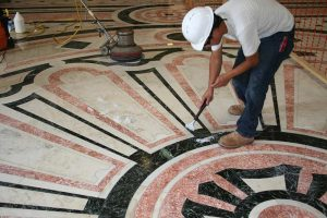 Encore-Sustainable-Design-Bancroft-Hall-Regrouting-stone-floor