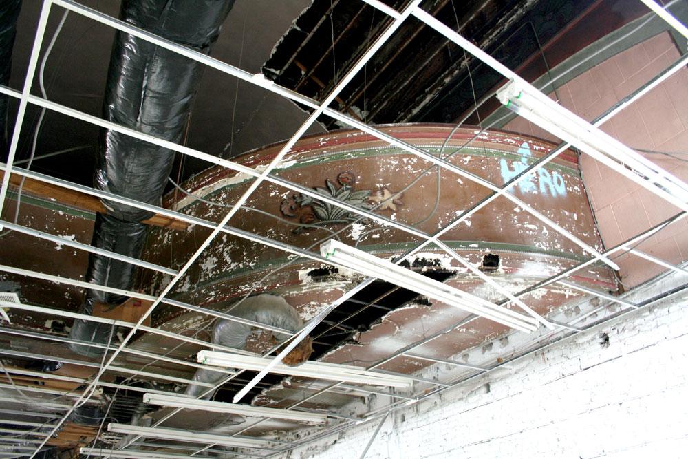 Belnord Theatre Balcony Restoration - Before
