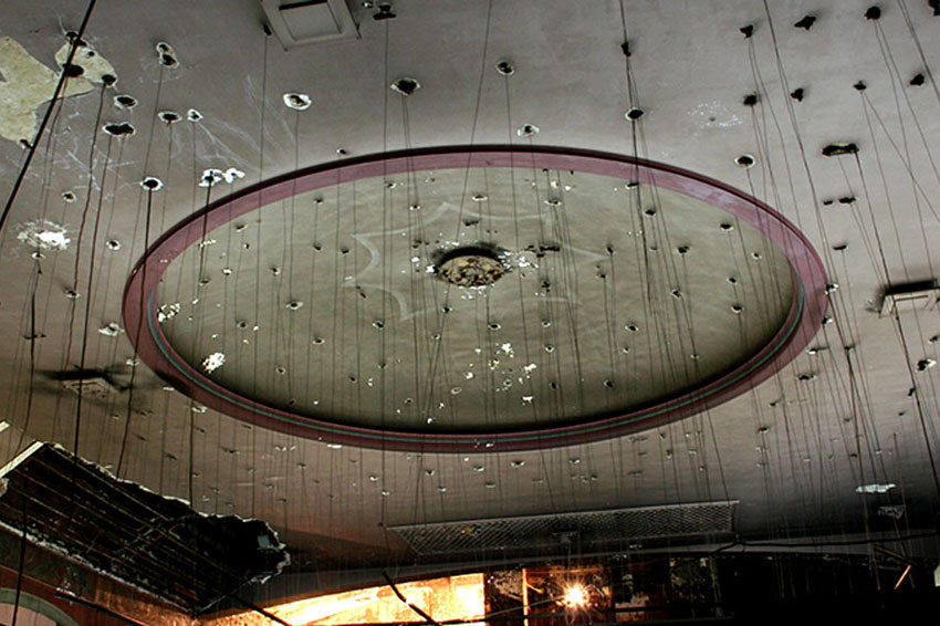Encore-Sustainable-Design-Belnord-Theatre-Dome-Ceiling-Before