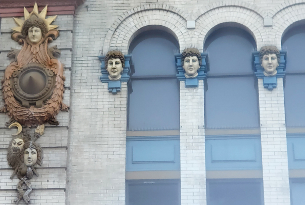 Gayety Terra Cotta Heads