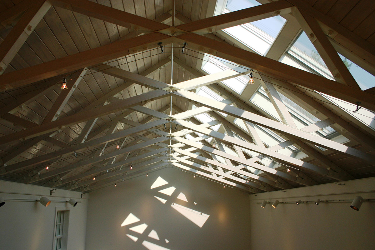 Encore Sustainable Architects WLS Studio Trusses