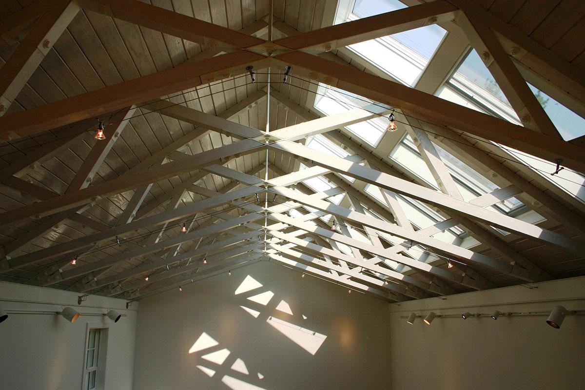 Encore Sustainable Architects WLS Studio Trusses