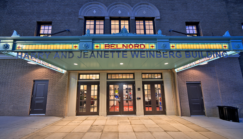 The preservation of the Belnord Theatre Marquee